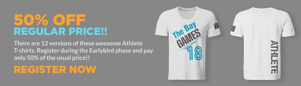 bay games t-shirt offer