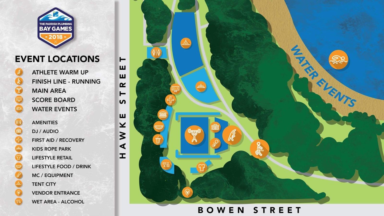 bay games map